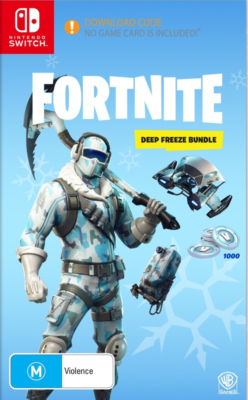 Fortnite: Deep Freeze Bundle (code in box) | Nintendo ...