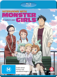 Interviews With Monster Girls - The Complete Series on Blu-ray