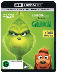 The Grinch on UHD Blu-ray image