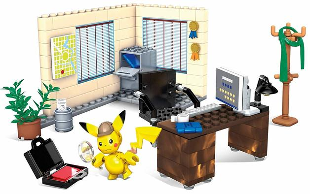 Mega Construx: Pokemon Playset - Detective Pikachu's Office