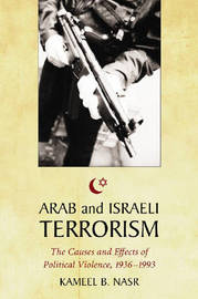 Arab and Israeli Terrorism by Kameel B. Nasr image