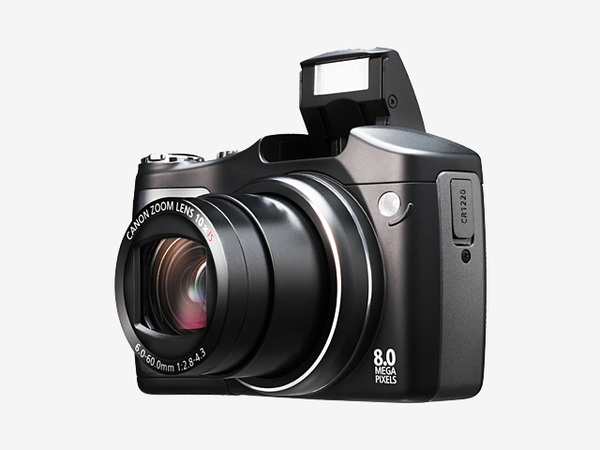 Canon SX100 IS 8.0Mp 10X Optical Dig Camera Black image