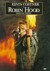 Robin Hood: Prince Of Thieves on DVD