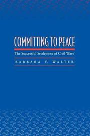 Committing to Peace by Barbara F Walter image
