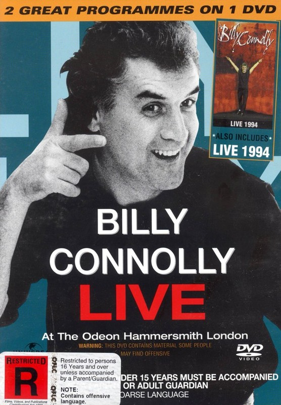 Billy Connolly 2 On 1 - Live At The Odeon/Hammersmith on DVD