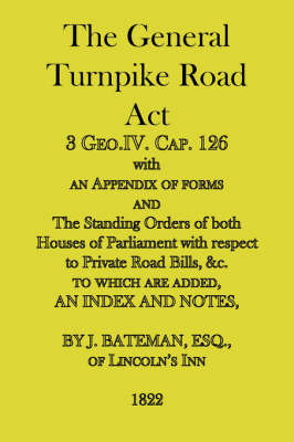 The General Turnpike Road Act
