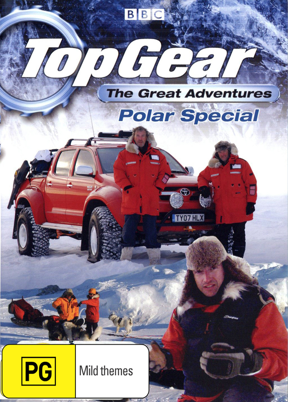 Top Gear - The Great Adventures: Polar Special on DVD