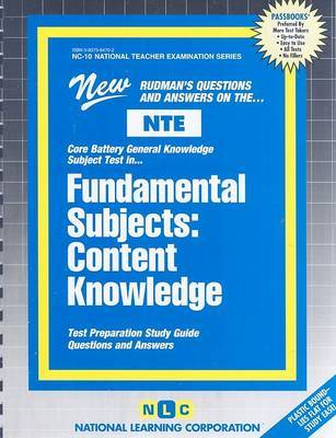 Fundamental Subjects