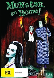 Munster Go Home on DVD