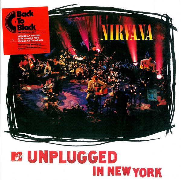 MTV Unplugged In New York by Nirvana image