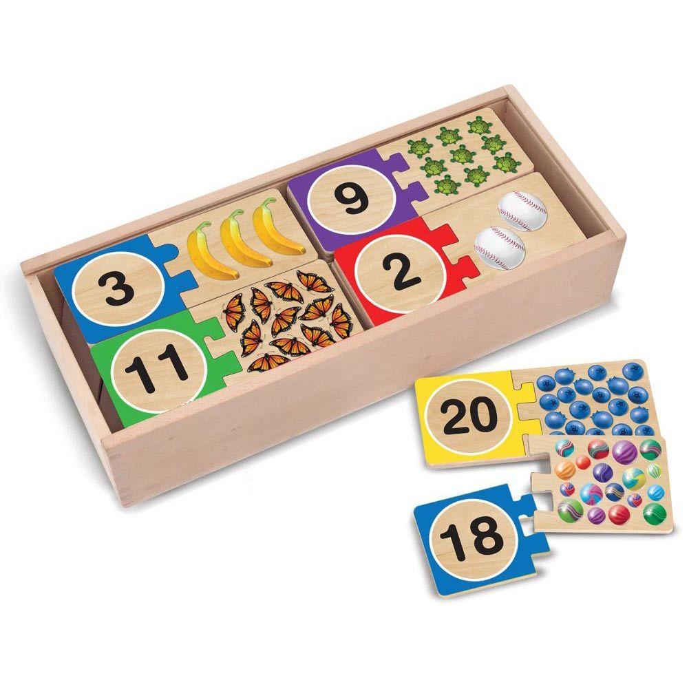 Melissa & Doug: Number Puzzles image