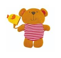 Hape: Teddy Andduck Bath Mitt Set