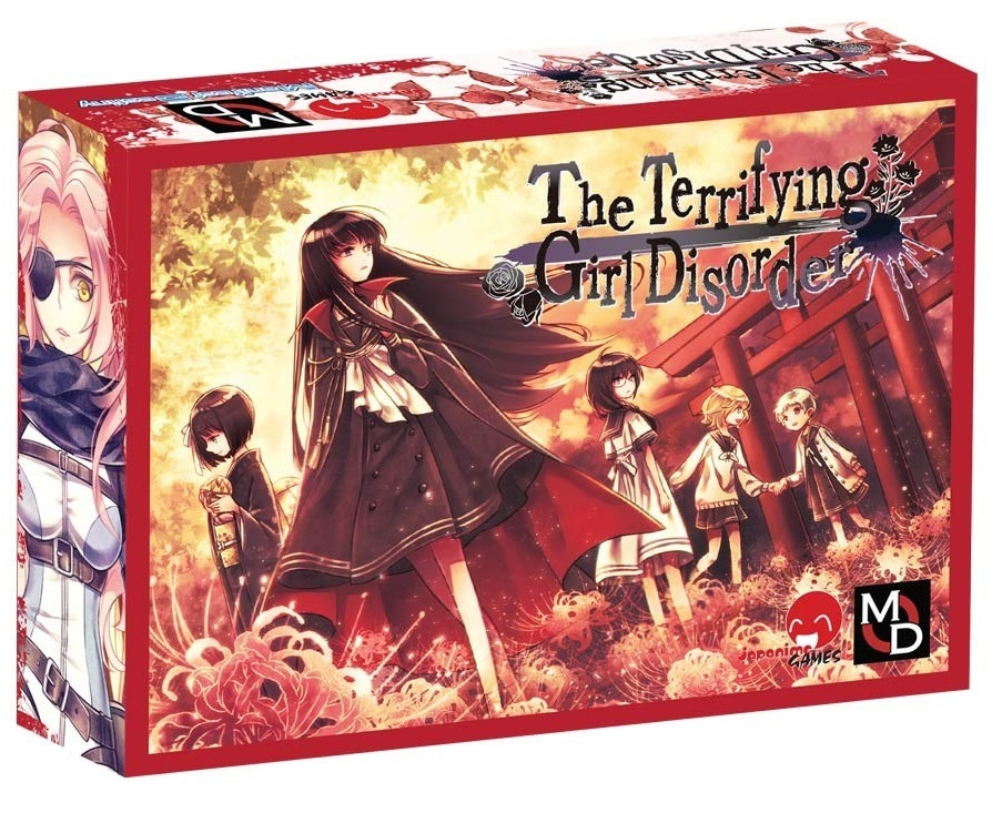 The Terrifying Girl Disorder - Card Game image