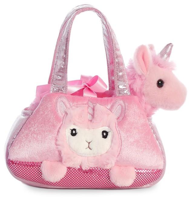Aurora: Fancy Pal Pet Carrier – Peek A Boo Llamacorn