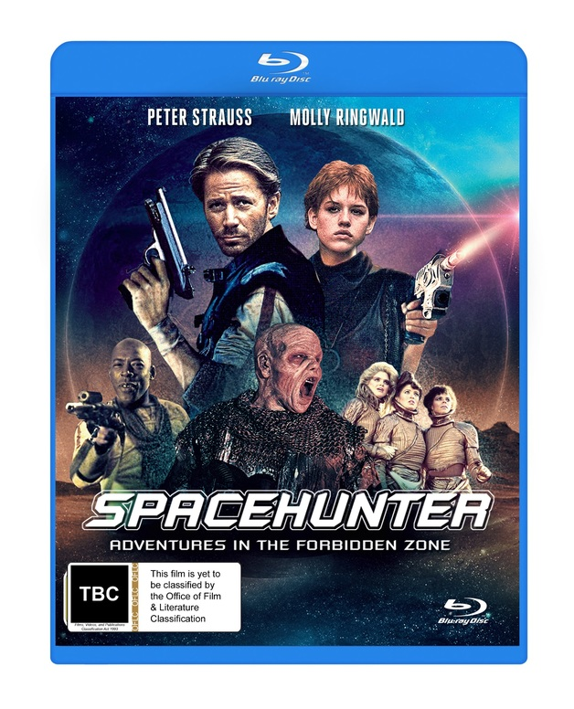 Space Hunter: Adventures In The Forbidden Zone on Blu-ray
