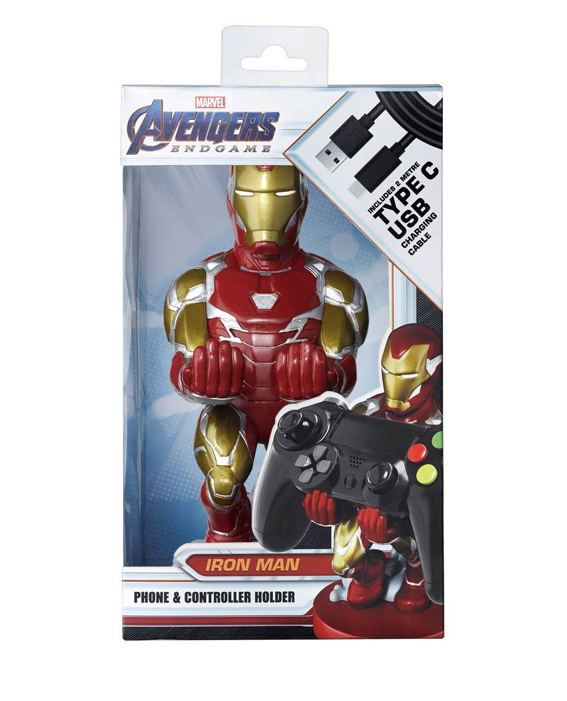 Cable Guy Controller Holder - Ironman for PS4 image