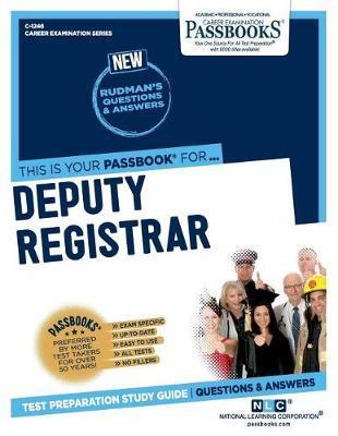 Deputy Registrar by National Learning Corporation