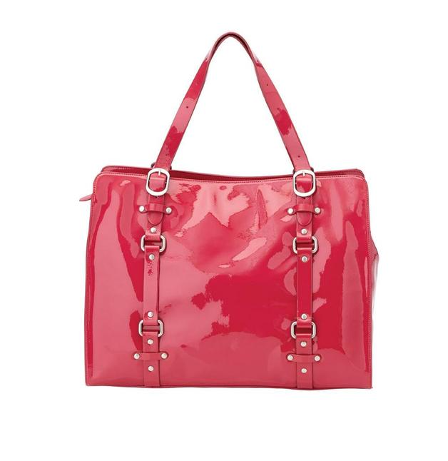 Oi Oi: Rose Patent Leather Tote