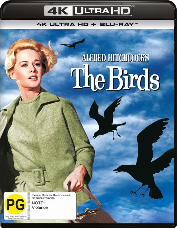 The Birds (4K UHD + Blu-Ray) on UHD Blu-ray