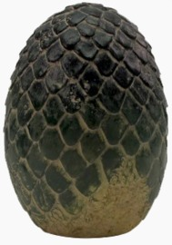 Game of Thrones - Dragon Egg Paperweight - Rhaegal