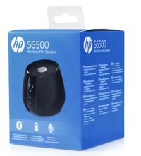 HP S6500 Bluetooth Wireless Speaker - Black image