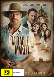 Miracle Maker: A Christmas Fable on DVD