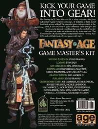FantasyAge RPG - Game Masters Kit by Chris Pramas