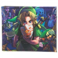 Legend of Zelda Majora's Mask Link Bi-Fold Wallet