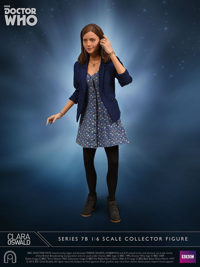 "Doctor Who - 12"" Clara Oswald Articulated Figure image"