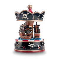 Pink Poppy: Pirate Ship - Musical Carousel