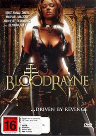 Bloodrayne on DVD image
