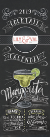 Alice Scott: Lily & Val 2019 Slimline Wall Calendar image