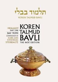 Koren Talmud Bavli, Noe Edition, Vol 35 by Adin Steinsaltz