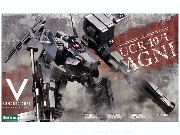 Armored Core: 1/72 UCR-10/L AGNI - Model Kit