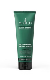 Sukin Supergreens - Detoxifying Face Scrub (125ml)