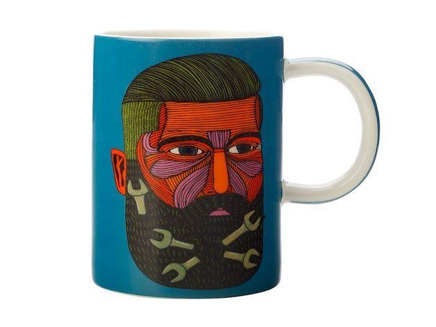 Maxwell & Williams: Mulga the Artist Mug Spanner Man