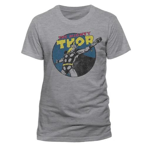The Mighty Thor - Vintage Unisex T-Shirt Grey - Medium