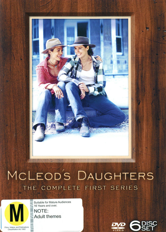 McLeod's Daughters - Complete Season 1 (6 Disc Box Set) on DVD