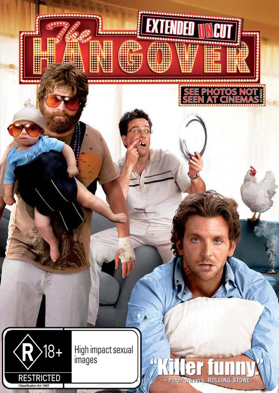 The Hangover on DVD