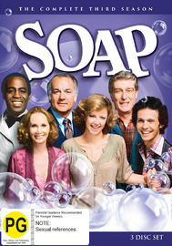 Soap (Season 3) on DVD