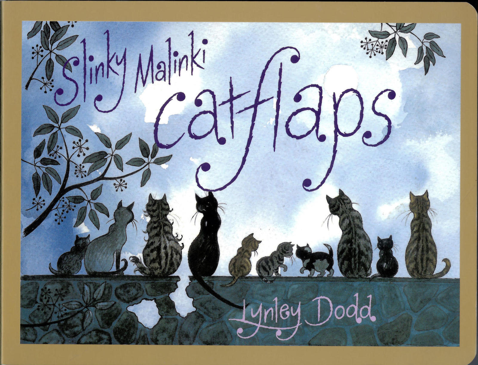 Slinky Malinki Catflaps by Dame Lynley Dodd image