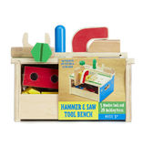 Melissa & Doug: Hammer and Saw Tool Bench
