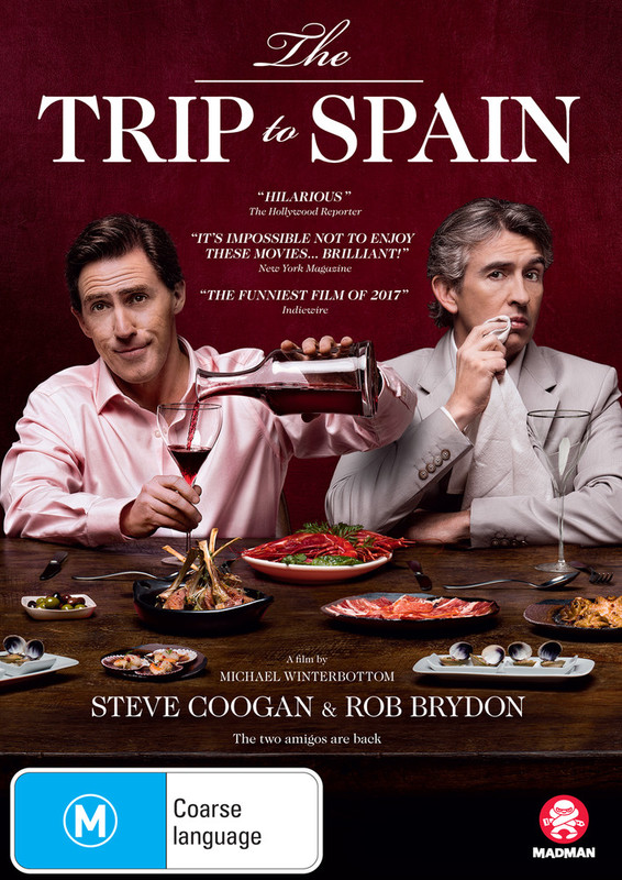 The Trip To Spain on DVD