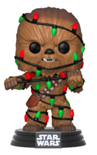 Star Wars: Holidays - Chewbacca (with Lights) Pop! Vinyl Figure image