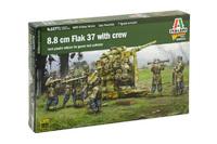 Italeri 1/56 8.8CM FLAK (Warlord Games) - Scale Model Kit