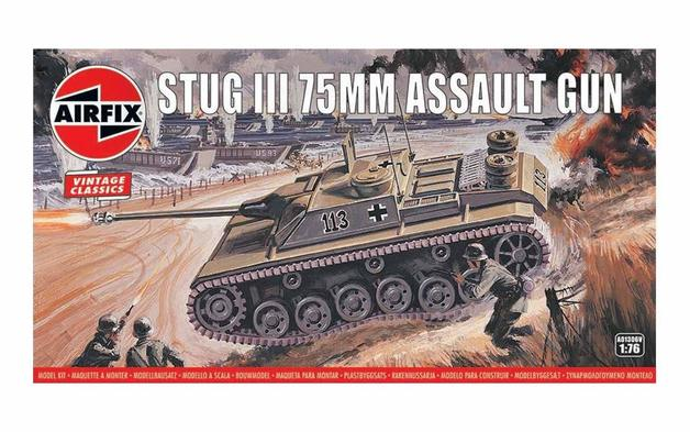 Airfix Stug III 75mm Assault Gun 1:76 - Model Kit