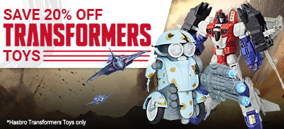 20% off Transformers Toys!
