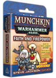 Munchkin: Warhammer 40,000 - Faith & Firepower Expansion image