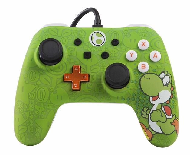 Nintendo Switch Classic Wired Controller - Yoshi for Switch