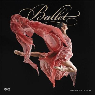 Ballet 2020 Square Foil Wall Calendar